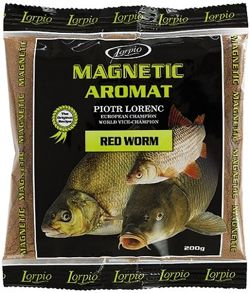 Aromat Lorpio Magnetic Red Worm 200g