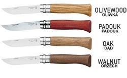 Nóż Opinel Luxury Inox No.6 Orzech Walnut 002025