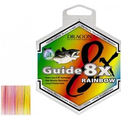 Plecionka Dragon Guide 8X Rainbow 0,25mm 250m 42-10-925