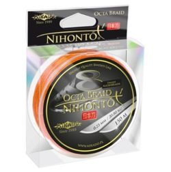 Plecionka Nihonto Octa Braid 0,12mm/150m Z24O-012 Orange
