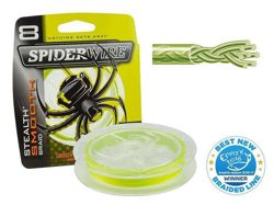 Plecionka SPIDERWIRE Stealth Smooth 8 Yellow 0,20mm/150m 1422165