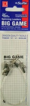 Przypon Dragon Invisiline Big Game 25kg/30cm
