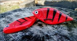 Wobler Lost Lures Ferox S 14cm 92g F4 Red Tiger