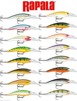 Wobler Rapala Scatter Rap Tail  SCRTD09-FT