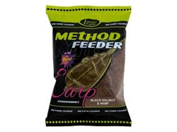 Zanęta Lorpio Method feeder Black Halibut&Hemp 700g ZA-LO449